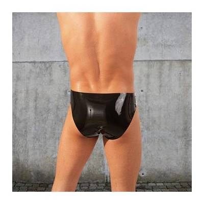 Latex Pouch Pants