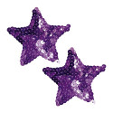 Bad Kitty Nipple Pasties - Purple