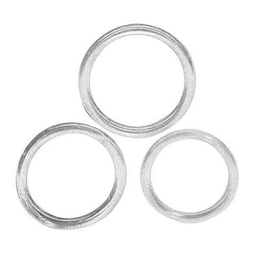 Cock & Ball 3 Piece Silicone Rings