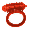 Vibrating Cock Ring Red
