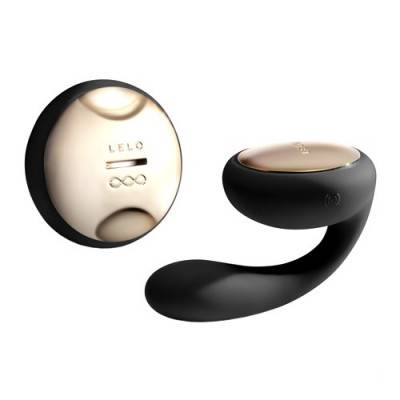 LELO - IDA Remote Control Couples Massager - Black