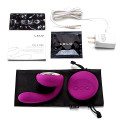 LELO - IDA Remote Control Couples Massager - Deep Rose