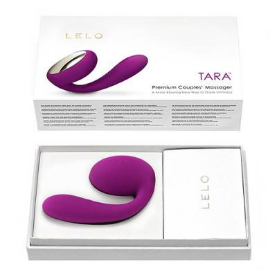 LELO - TARA - Couples Massager - Deep Rose