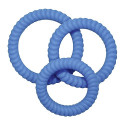 Lust 3 Cock Rings - Blue