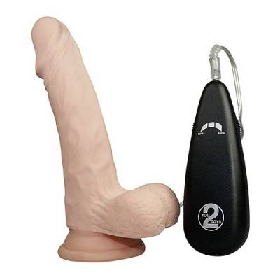 Realistixxx Real Nice Guy Vibrating Dildo
