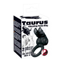 Taurus Bull Vibrating Cock Ring - Black