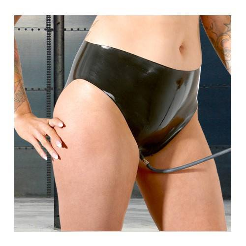 Fetish wear dildoe panties