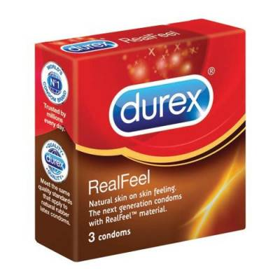 DUREX Condoms Real Feel (Latex Free)