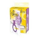 Smile - Loop Vibro Cock Ring - Purple