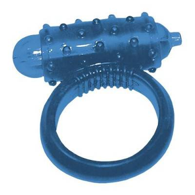 Vibrating Cock Ring - Blue