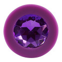 Joy Jewel Anal Butt Plug - Medium Purple