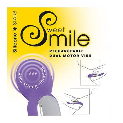 Smile - Sweet Dual Massager Purple