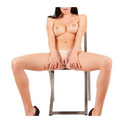 Silicone Strap-On Pussy
