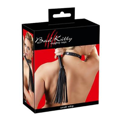 Bad Kitty - Black Mini Flogger