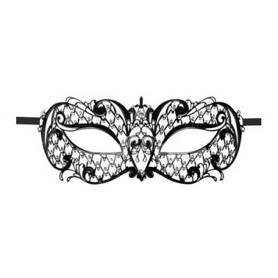 Venetian Mask - Metal Black - Cadenza