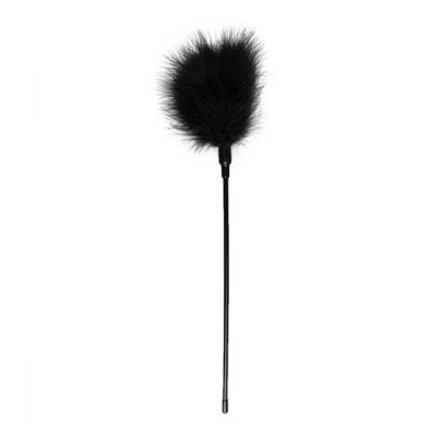 Long Feather Tickler - Black (ET-1)