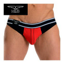 Mister B - Jockstrap Manhattan - Black & Red