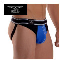 Mister B - Jockstrap Manhattan - Black & Blue