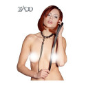 Zado Leather Collar with Leash