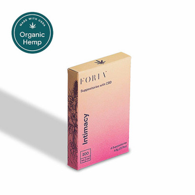 Foria Intimacy - Suppositories with CBD