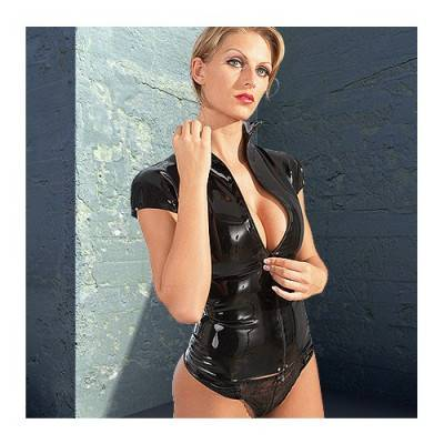 Latex Zip Shirt